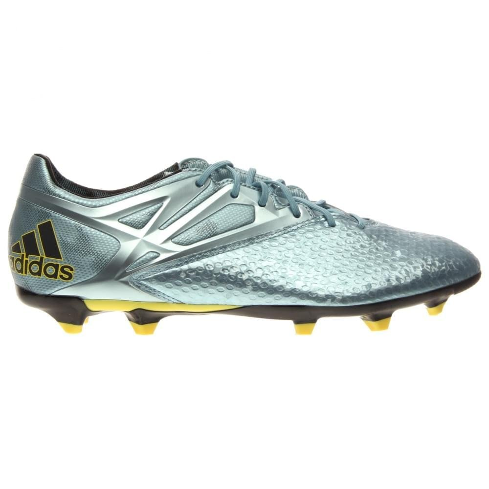 d09adc37034 Galleon - Adidas Messi 15.2 FG AG Cleats - Matte Ice Metallic Bright Yellow  Black - Mens - 9.5