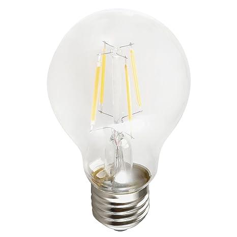 Cogex 494569 bombilla LED filament cristal 6 W E27 transparente