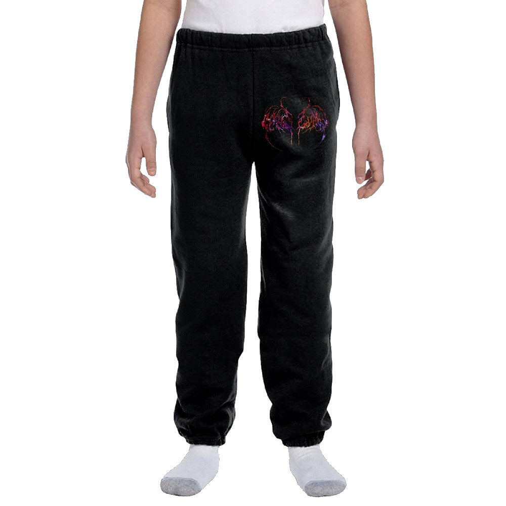 Youth Galaxy Band Nightbringer Logo Cotton Sweatpants