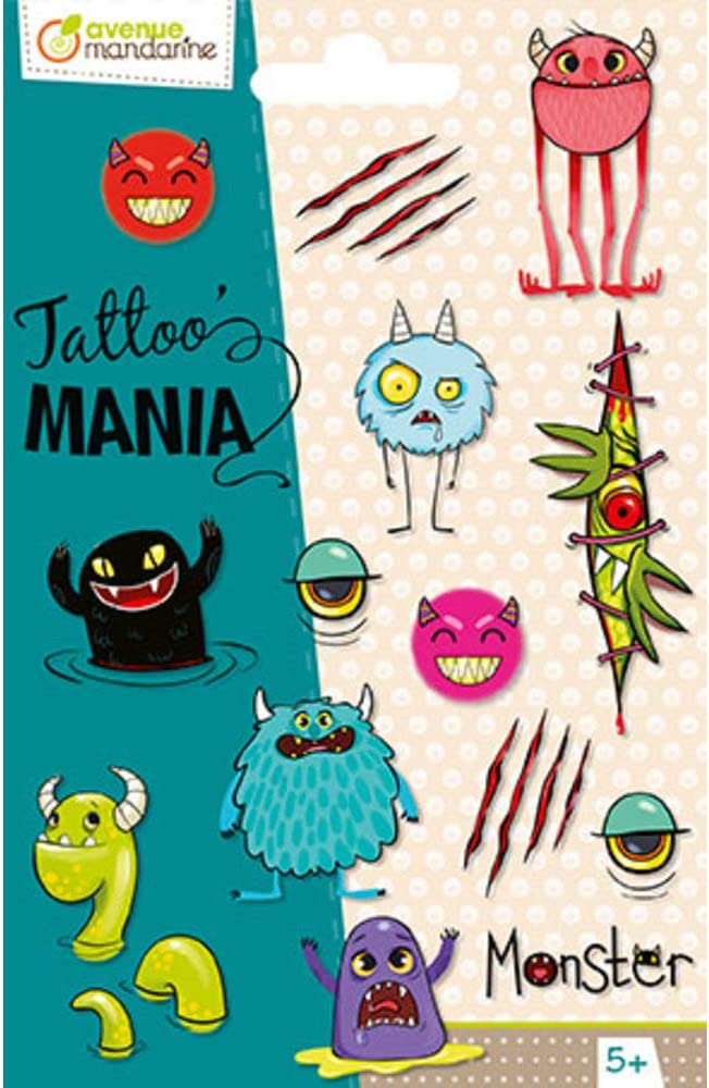Avenue Mandarine - TattooMania CC053C: Amazon.es: Juguetes y juegos