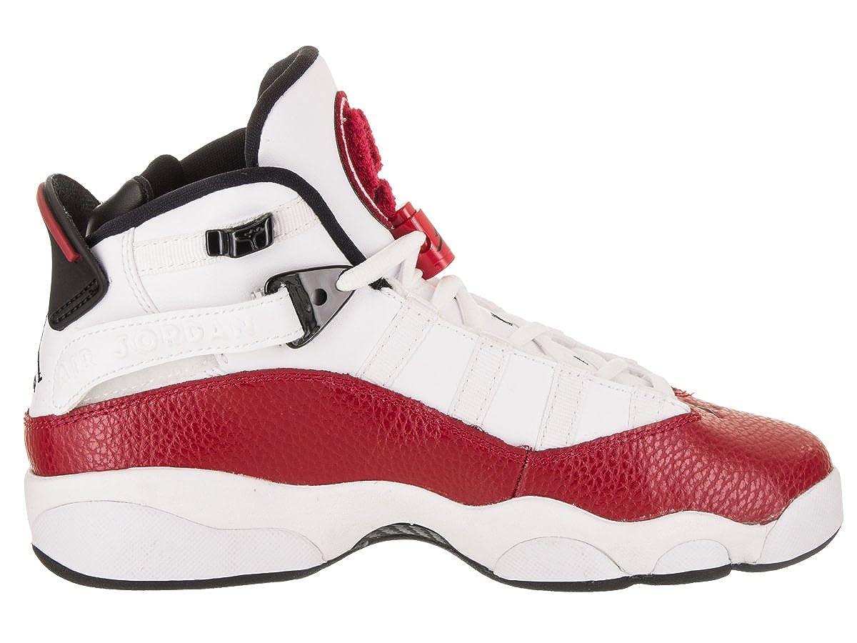 Jordan Nike Kids 6 Rings BG Basketball Shoe