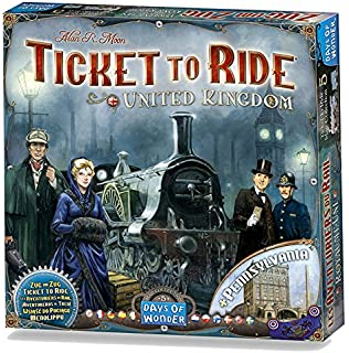 com ticket to ride various toys games ticket to ride map collection volume 5 united kingdom board game