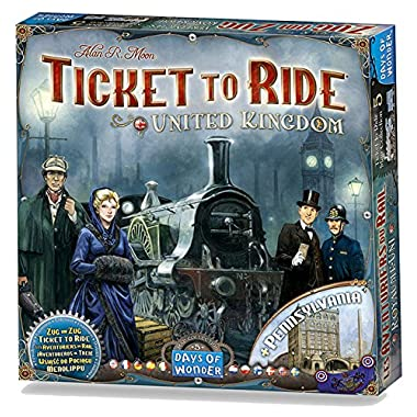 Ticket to Ride Map Collection Volume 5 : United Kingdom Board Game