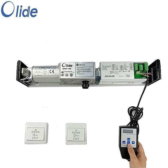 Olide SW100 - Abridor de puerta con dos botones de presión inalámbricos: Amazon.es: Bricolaje y herramientas