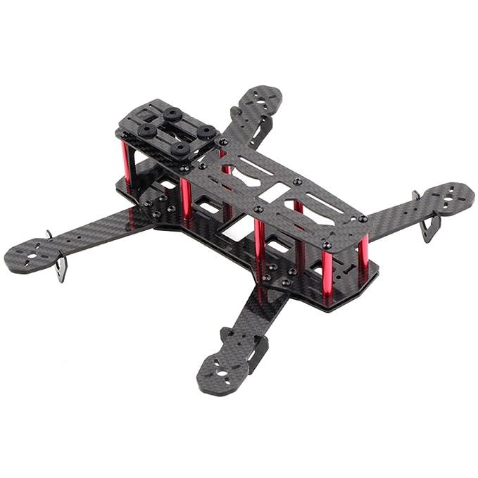 Carbon Fiber DIY Quadcopter Quad Race Copter Frame Kit 250 FPV ...