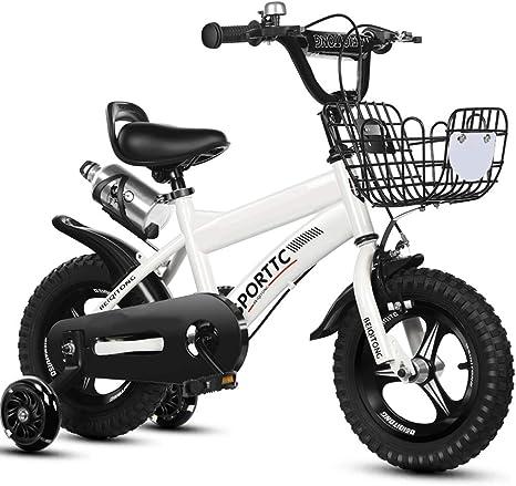 Bicicleta para niños 2-3-4-5-6 años Niño niña niño Bicicleta ...