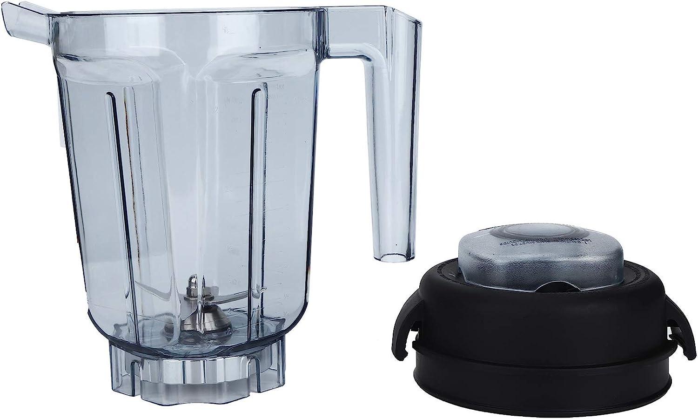 GAESHOW Transparenter Mixerbeh/älter mit Klingendeckel Ersatzzubeh/ör Passend f/ür Vitamix Container 32oz Mixerzubeh/ör