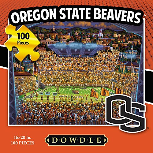 Jigsaw Puzzle - Oregon State University Beavers-OSU-100 Pc By Dowdle Folk Art