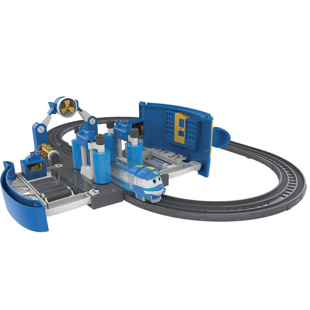 Rocco Giocattoli Rocco Spielzeug 80171 – Roboter Trains Station Reinigung von Kay