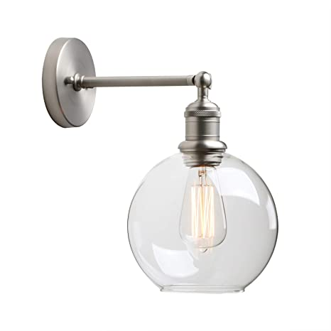 Marvelous 1 Light Wall Sconce Yosoan Mini Vintage Industrial Wall Home Interior And Landscaping Fragforummapetitesourisinfo