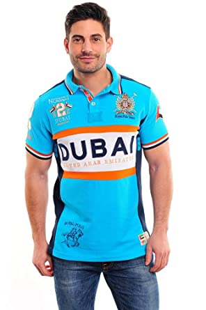 Geographical Norway SK315H-Polo Hombre Turquesa XL: Amazon.es ...