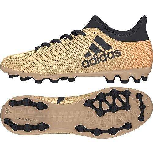 54fbd28b0cc2 adidas X 17.3 AG, Scarpe da Calcio Unisex-Bambini, Oro Tagome/Cblack