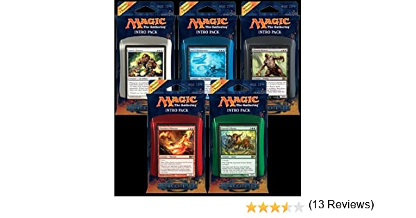 M:TG Magic 2014 Set of 5 Intro Packs: Amazon.es: Juguetes y juegos