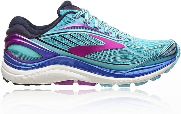 Brooks Transcend 4 - Zapatillas de running para mujer, color azul, talla 35 EU: Amazon.es: Deportes y aire libre