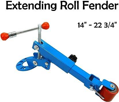 Heavy Duty Fender Roller Tool Extending Auto Body Wheel Arch Roller Tool Blue