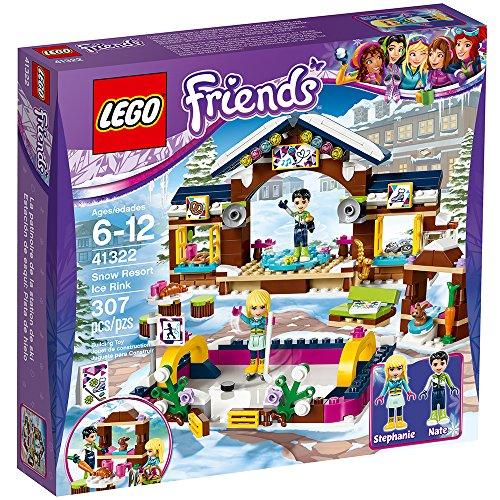 LEGO Friends Snow Resort Ice Rink 41322 Building Kit (307 Piece) JungleDealsBlog.com