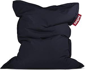 Fatboy Original Slim Outdoor Bean Bag Lounge Chair, Navy Blue