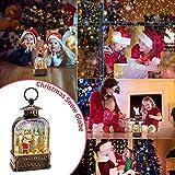 Christmas Musical Snow Globe Lantern, Christmas