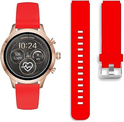Amazon.com: Diruite Michael Kors Runway Smartwatch banda de ...