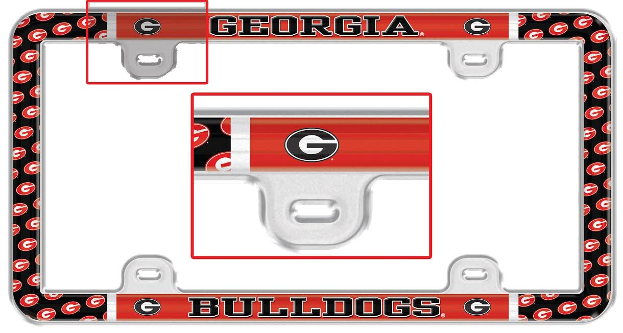 Georgia Plastic /& Decal University of S18105 LIC PLT Thin Frame