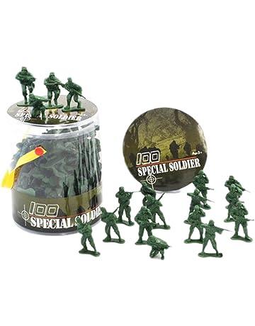 Vert Soldats 1:32 Camions Tracteurs Toy Guns Models Black Temptation 100 Pcs Toy Soldats Cadeaux Voitures