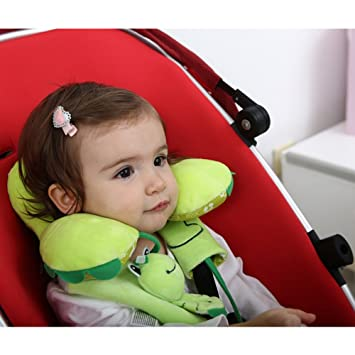 Car Seat Pillow Newborn Baby Infant Safety U Shape Soft Memory Neck Protection