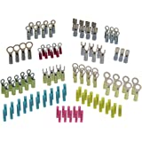 Ancor 220003 Marine Grade Electrical Premium Nylon Insulated Double Crimp Funnel Entry Connector Kit (18 to 10-Gauge, 120-Pack)