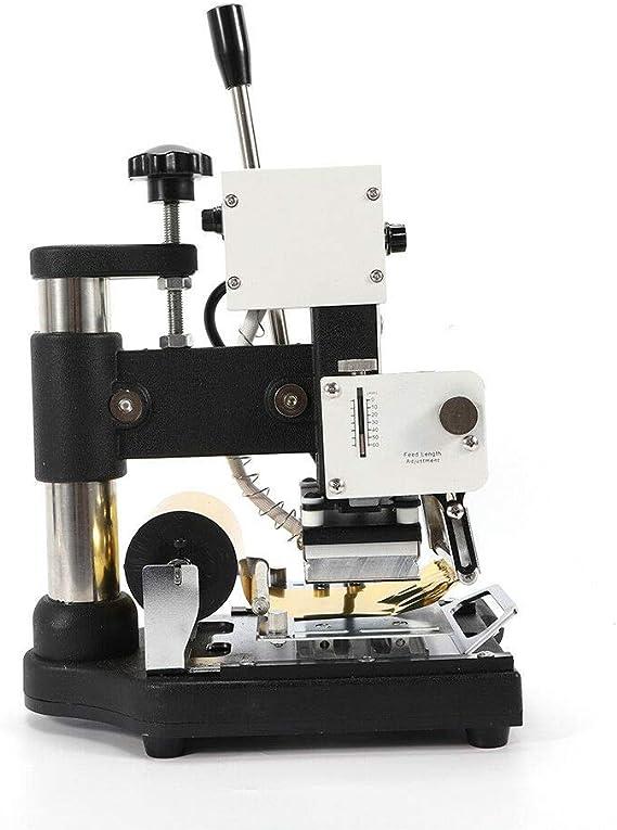Papel de aluminio Máquina de estampación Volquete PVC Bronceado Tarjeta de cuero 2 Roll Foil Pap: Amazon.es: Hogar