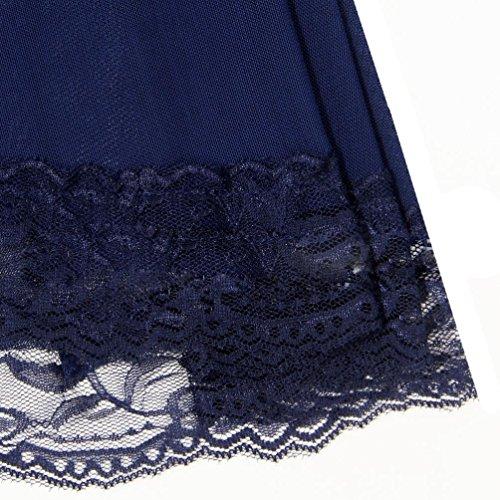 Donna in 3pc donne Lingerie Sexy Capestro Aperto Biancheria Babydoll Esotico lingerie camicia clubwear Yanhoo Nero fuori sexy Lingerie sexy look Pizzo Lace Pizzo abito pUOdqwxC