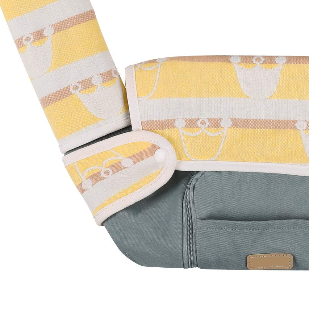 Great Baby Shower Gift by Accmor Baby Drool and Teething Reversible Cotton Pad Fits Most Baby Carrier Baby Carrier Teething Drool Pads