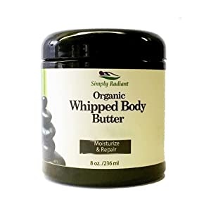 Natural Organic Body Butter – Handmade with Natural Ingredients – Shea Butter, Almond Oil, Coconut Oil and Cocoa Butter Body Moisturizer, Lavender Lemon