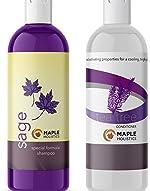 Sulfate Free Shampoo and Conditioner Set - Dandruff Shampoo and Conditioner