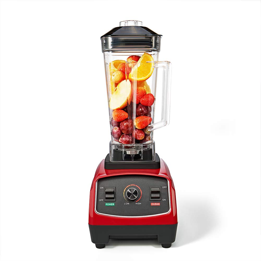 Tellworld Blender Smoothie Maker,1200W High Speed 64 OZ Professional Countertop Blender For Juice,Baby Food, Soup with Variable Speeds BPA-Free Pitcher