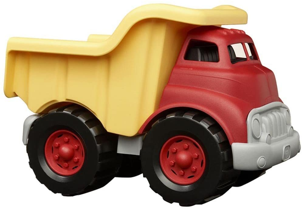 Green Toys Dump Truck in Yellow