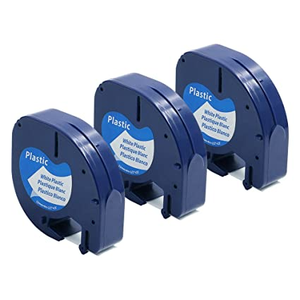 4-pack Replace Dymo Letratag Refills Clear Transparent Labe.. Label Tapes & Cartridges Free 2 Day Ship Business & Industrial