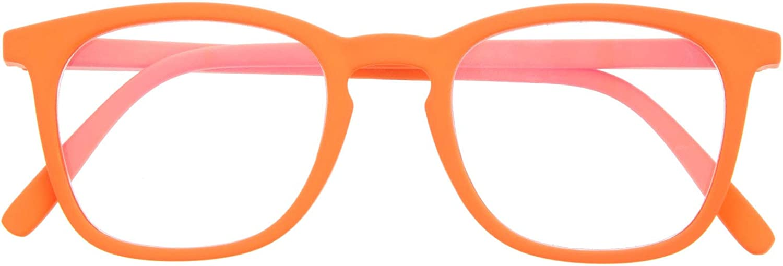 DIDINSKY Gafas de Presbicia con Filtro Anti Luz Azul para Ordenador. Gafas Graduadas de Lectura para Hombre y Mujer con Cristales Anti-reflejantes. 6 colores y 6 graduaciones – TATE