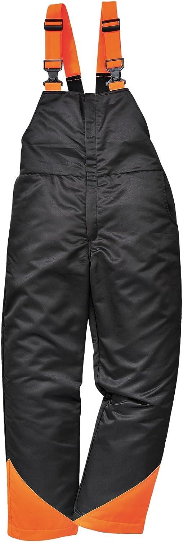 Madera de roble Portwest motosierra protección incluye pantalones y pechera