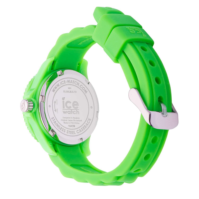 87d6a8b18870 Ice-Watch - ICE forever Green - Reloj verde para Niño con Correa de silicona  - 000792 (Extra Small)  Amazon.es  Relojes