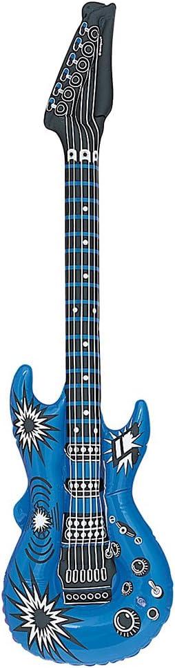 Unique Party- Guitarra inflable (95160): Amazon.es: Juguetes y juegos