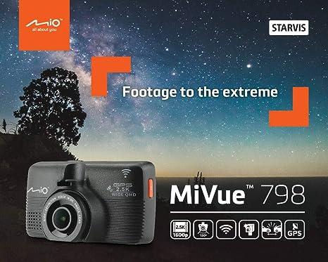 Mio Mivue 798 Full Hd Black Wlan Dashcams Full Hd 150 Cmos 30 Fps H 264 Mp4 Black Auto