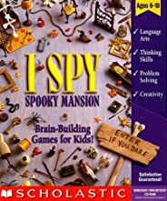 I Spy Spooky Mansion (Ages 6-10) (Win &