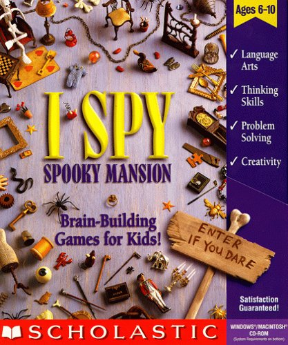 I Spy Spooky Mansion (Jewel Case)