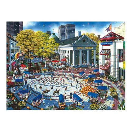 SunsOut Quincy Market 1000 Piece Jigsaw Puzzle