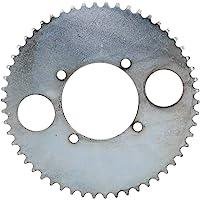 Metalen tandwiel Geschikt voor T8F ketting sterke taaiheid tandwiel met 4 gaten