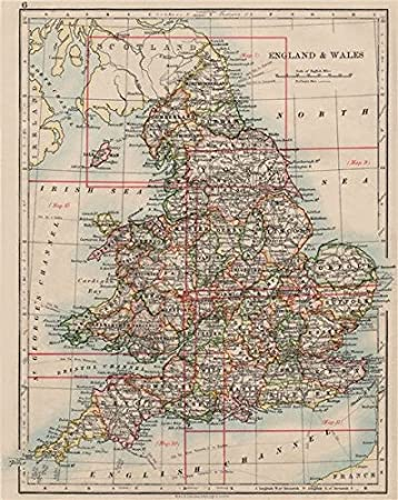 Amazon Com England And Wales Counties Westmorland Telegraph