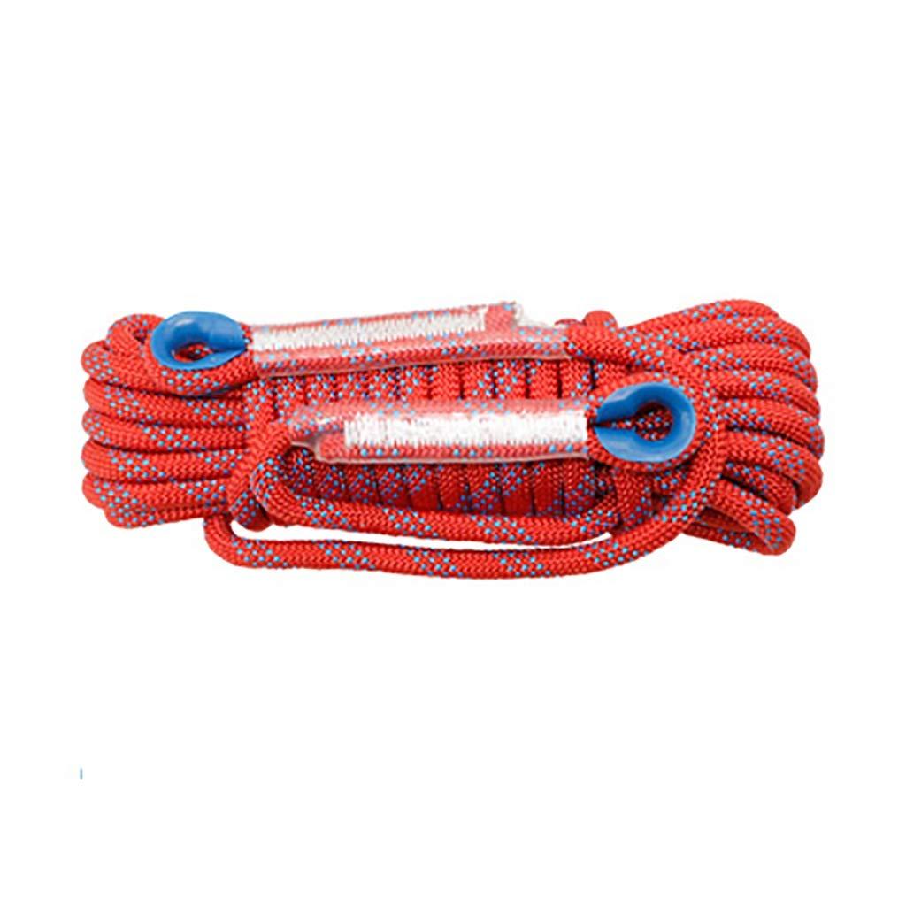 16mm(0.63in) LIZIPYS Cordes Cordes statiques Corde à Grimper Φ16 (0.63in)   18mm (0.7in)   20mm (0.78in) Convient à l'escalade en Plein air au Travail aérien à la Descente au Sauvetage à la Traction 15M(49ft)