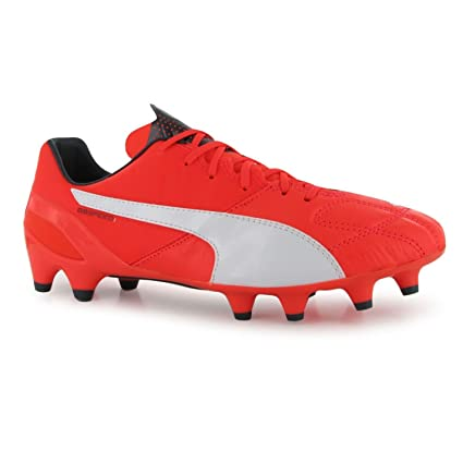 Puma evoSpeed 1 Leather FG Firm Ground Football Boots Mens Lava Soccer  Cleats (UK6) 30f059fab
