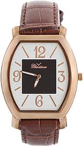 كاريزما ساعة يد كاجوال للرجال، بسوار من جلد ، NO.4918C