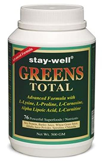 Amazon.com: stay-well verdes Total 500 g: Health & Personal Care
