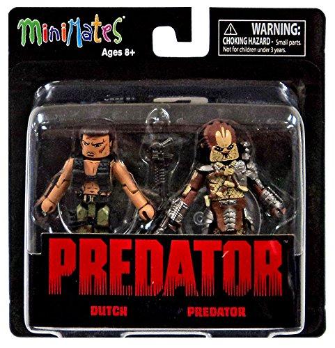 "Predator Minimates Series 1 Dutch & Predator 2"" Minifigure 2-Pack"